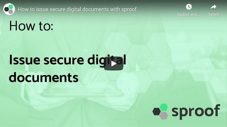 issue secure digital documents video thumbnail