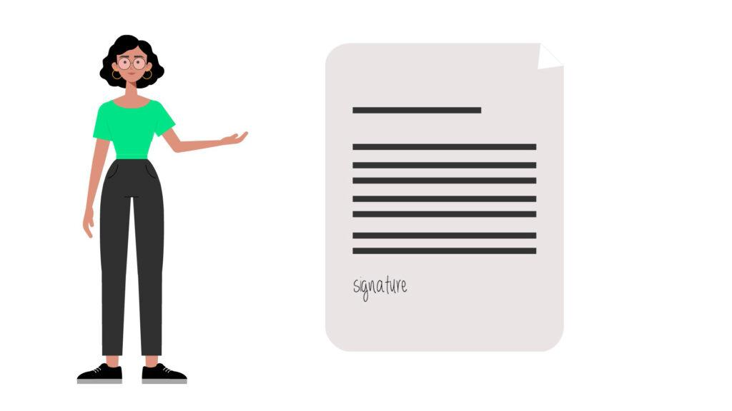 our year in review: sproof sign document illustration