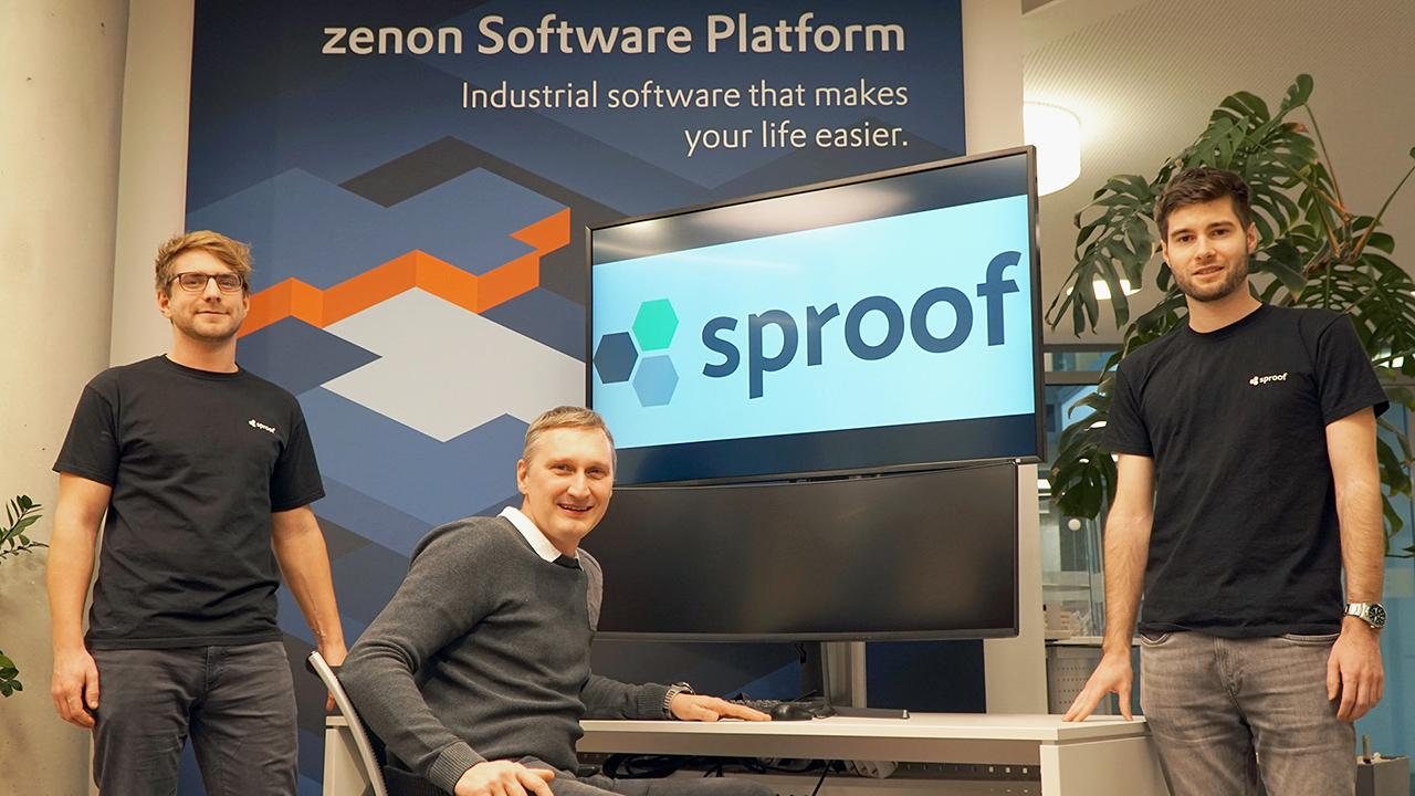 COPA-DATA and sproof partnership